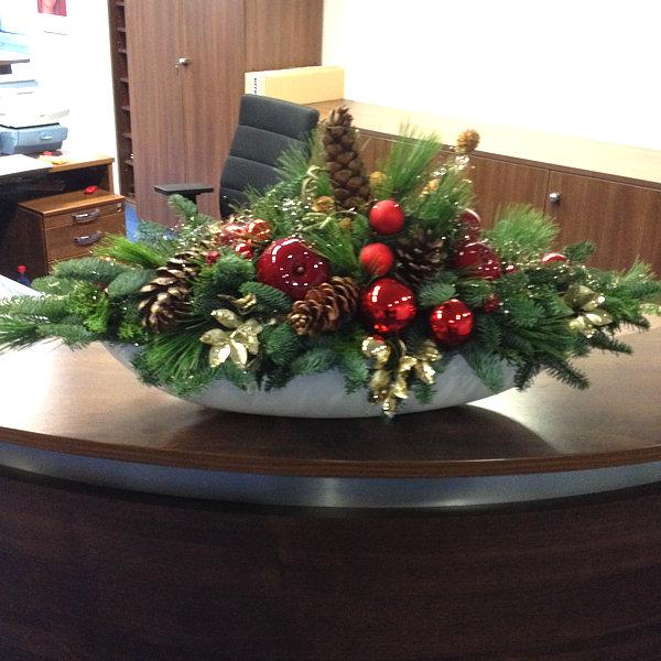 Edle Weihnachtsdeko 2019.Weihnachtsdeko Und Adventsservice Büropflanzen Hydrokultur